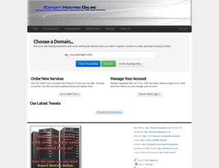 experthostingonline.com screenshot