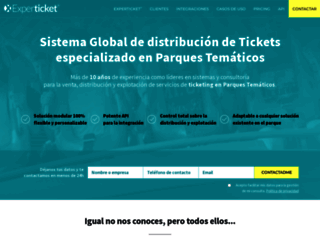 experticket.com screenshot