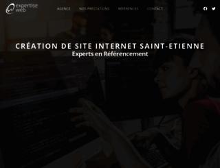 expertise-web.com screenshot