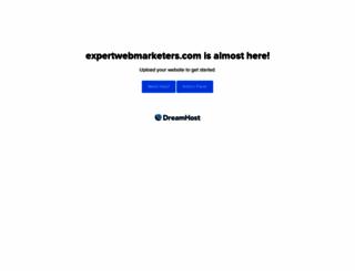 expertwebmarketers.com screenshot