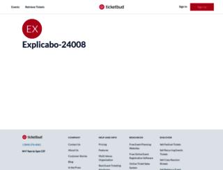explicabo-24008.ticketbud.com screenshot