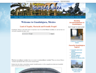 explore-guadalajara.com screenshot