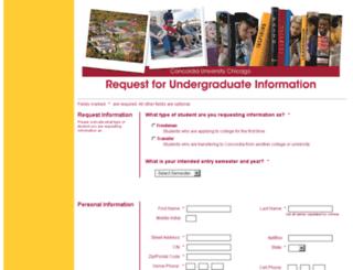 explore.cuchicago.edu screenshot