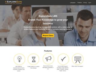 exploregate.com screenshot