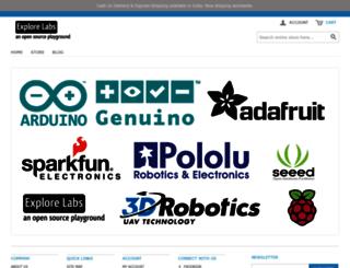 explorelabs.com screenshot