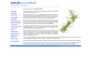 explorenewzealand.net.nz screenshot
