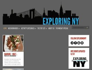 exploringny.com screenshot