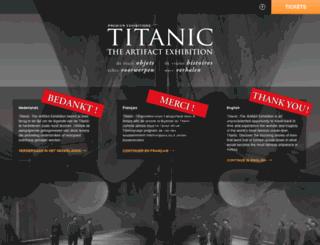 expo-titanic.be screenshot