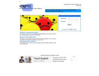 expo4students.com screenshot