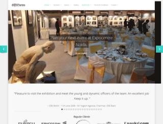 expocentreindia.com screenshot