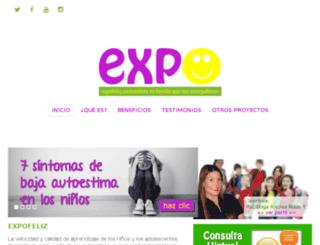 expofeliz.com screenshot