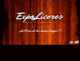 expolicores.com screenshot