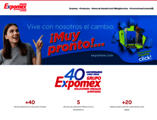 expomex.com screenshot