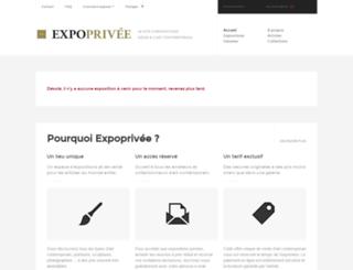 expoprivee.com screenshot