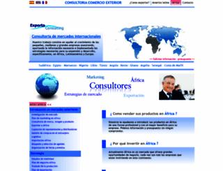 exportaconsulting.com screenshot