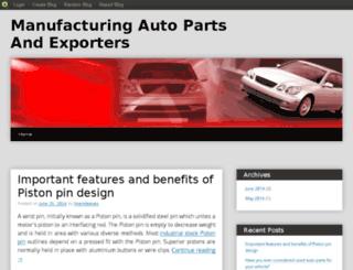 exportautoparts.blog.com screenshot