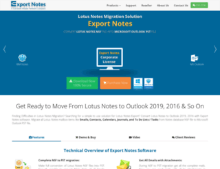 exportnotes.com screenshot
