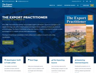 exportprac.com screenshot