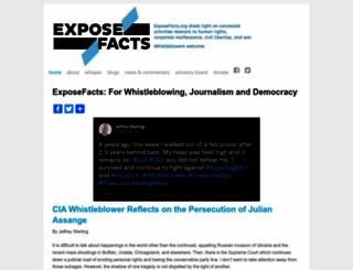 exposefacts.org screenshot