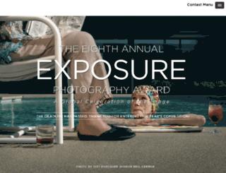 exposureaward.com screenshot