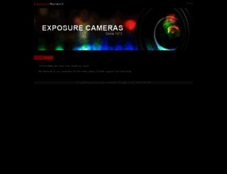 exposurenorwich.co.uk screenshot