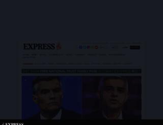 express.co.uk screenshot