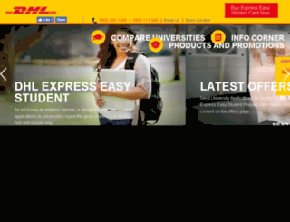 expresseasystudent.in screenshot