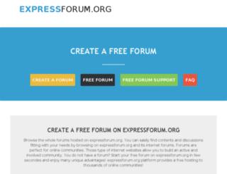 expressforum.org screenshot