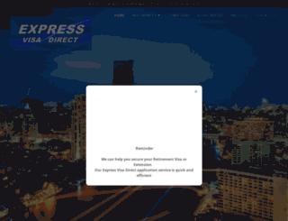 expressvisathai.com screenshot