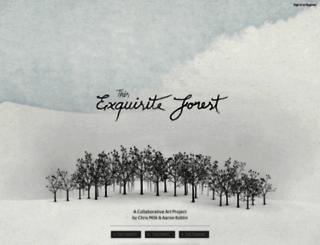 exquisiteforest.com screenshot