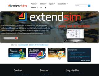 extendsim.com screenshot
