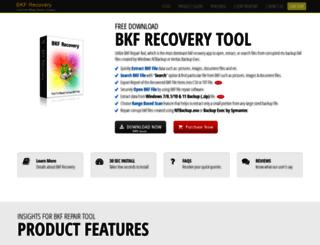 extensionmdf.bkfrecovery.net screenshot