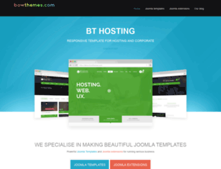 extensions.bowthemes.com screenshot