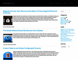 extensionsmall.com screenshot