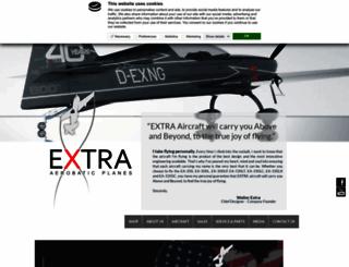 extraaircraft.com screenshot