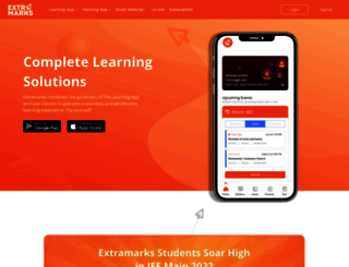 extramarks.com screenshot