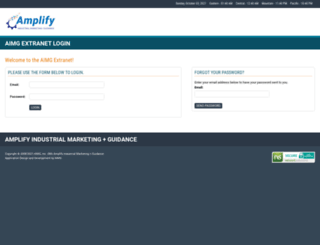 extranet.aimg.com screenshot