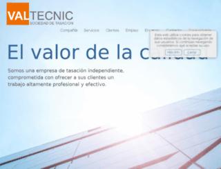 extranet.valtecnic.com screenshot