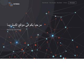 extrema-dz.com screenshot