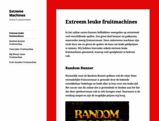 extreme-machines.nl screenshot