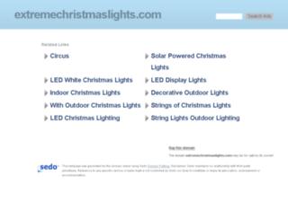extremechristmaslights.com screenshot