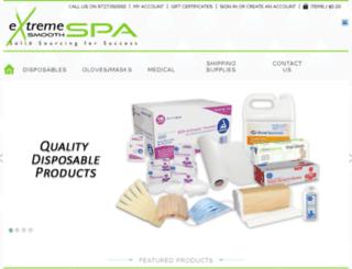 extremesmoothspa.com screenshot