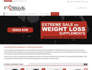 extremesupplements.net screenshot