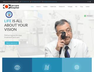 eyecarehospital.org screenshot