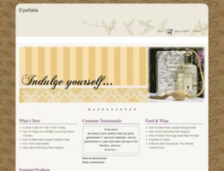 eyeitalia.com screenshot