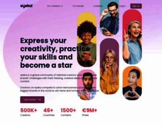 eyeka.com screenshot