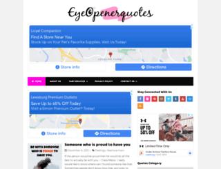 eyeopenerquotes.com screenshot