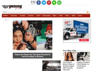 eyeopening.info screenshot