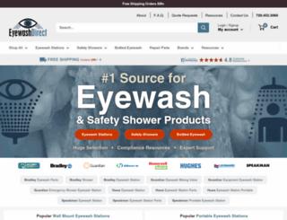 eyewashdirect.com screenshot