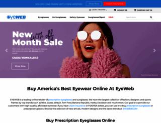 eyeweb.com screenshot